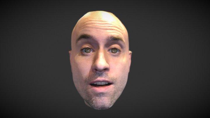b 3D Model