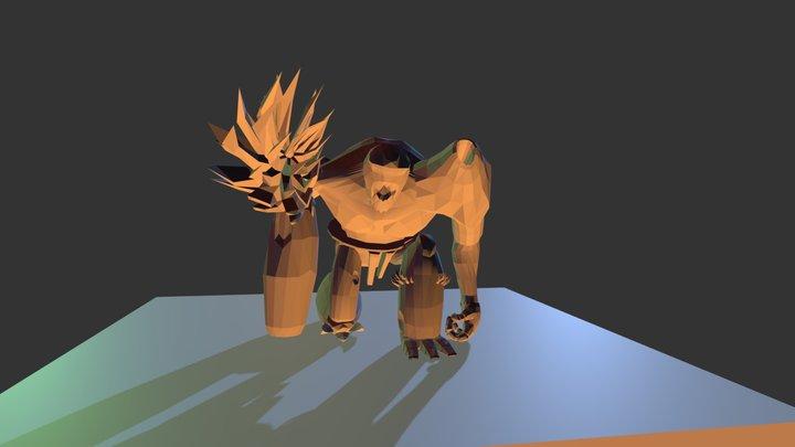 Awake Anim- Titan 3D Model