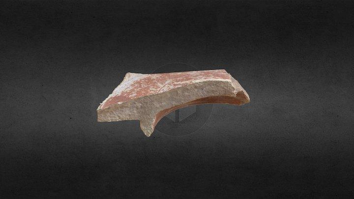 Fragmento de terra sigillata (Tricio, La Rioja) 3D Model