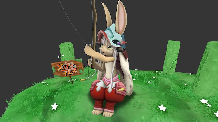 Made in Abyss-Nanachi 3D Model