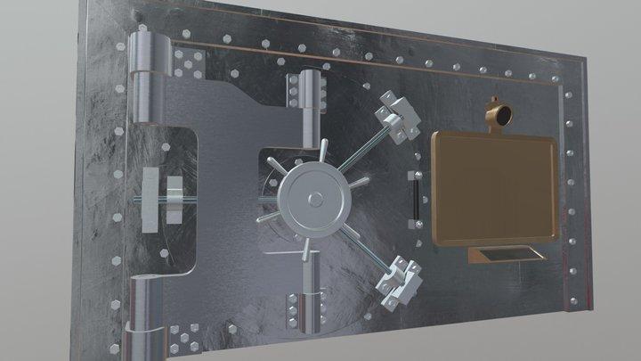 Vault - Substance Painted 3D Model