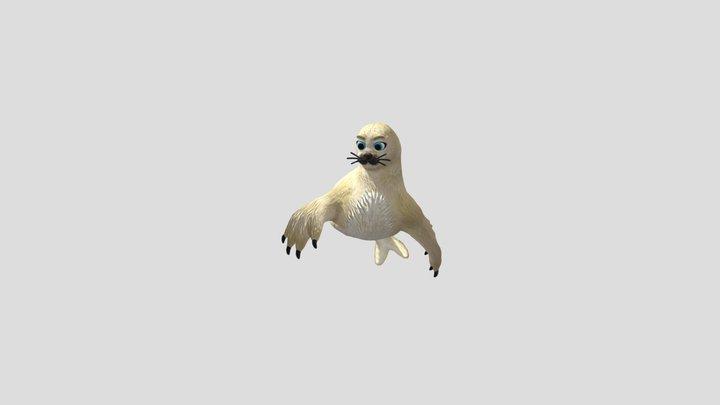 Arctic Seal 3D Model