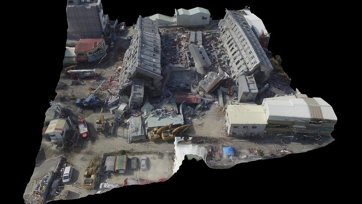 VR-Weiguan Collapsed Building (Feb.7,2016) 3D Model