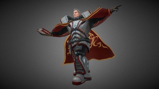 Deacon Dave 3D Model