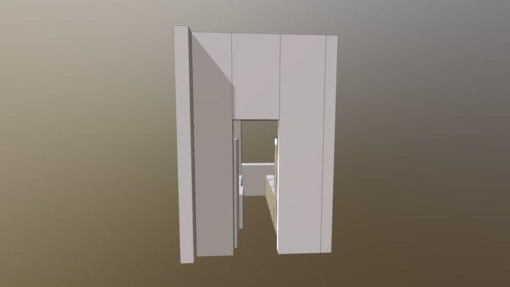 Option 2 - NY Flat 3D Model