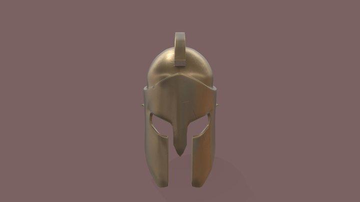 Spartan Helmet 3D Model