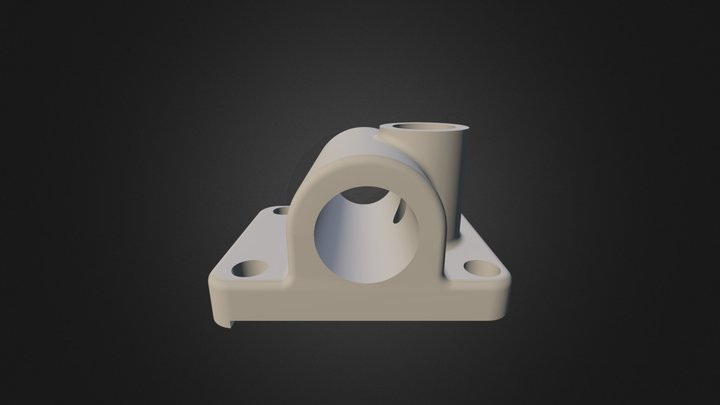 Commande De Baladeur 3D Model