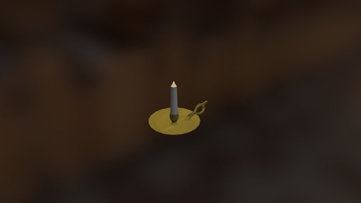 Candle Stick 3D Model