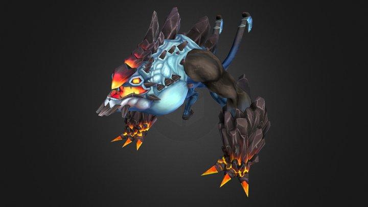 Saber-tail 3D Model