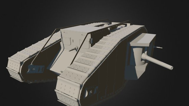 Mark IV Test #2 3D Model