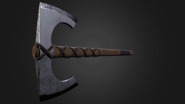 Riverheart Axe 3D Model