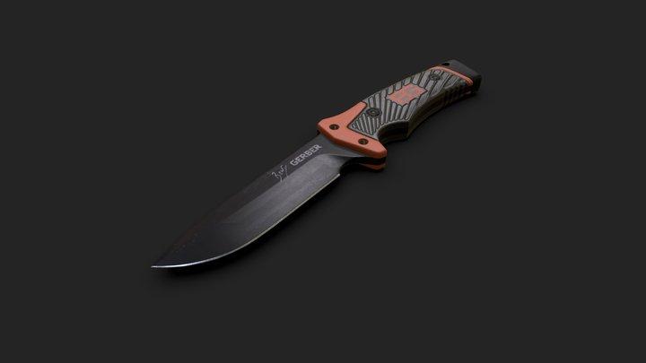 Bear Grylls / Gerber Survival Knife 3D Model