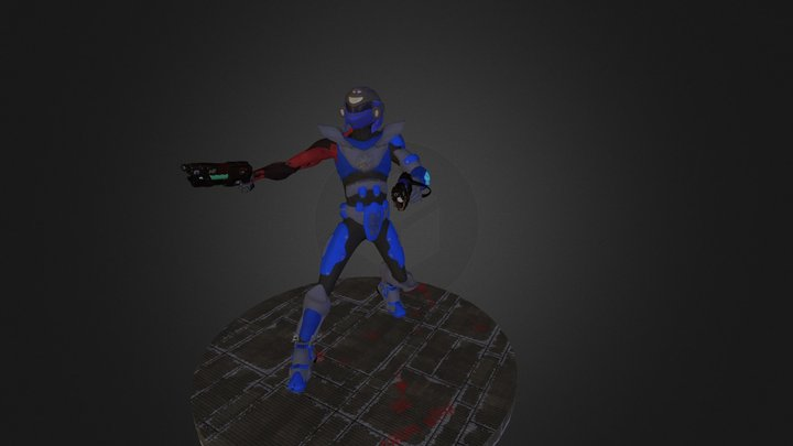 Ringo space merc 3D Model