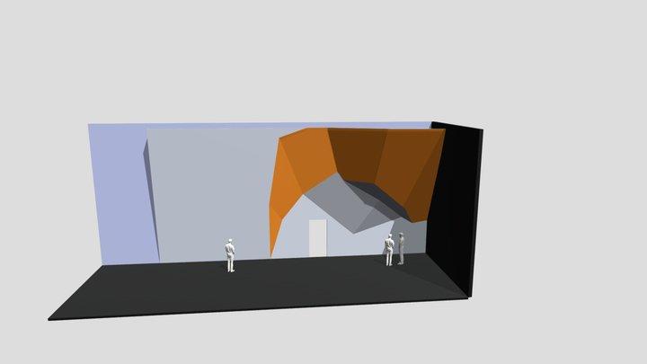 """Скалодром """"БК"""" 3D Model"""