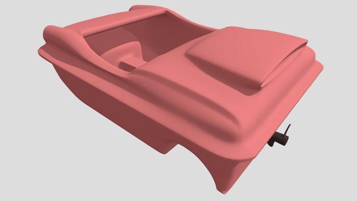 Amphibious Vehicle 3D Model