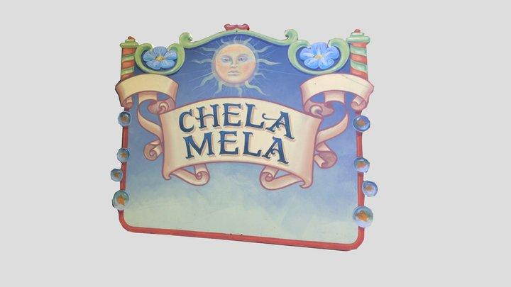 OCF Chela Mela Sign 3D Model