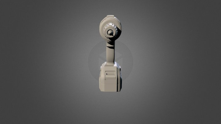 Drill Guild High Poly 3D Model
