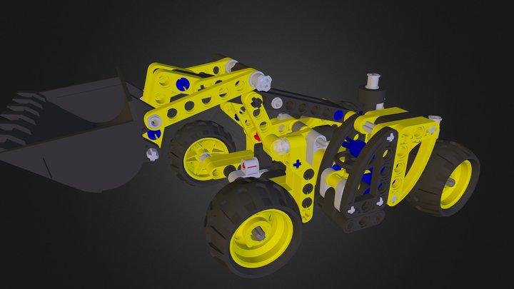 Telehandler 3D Model