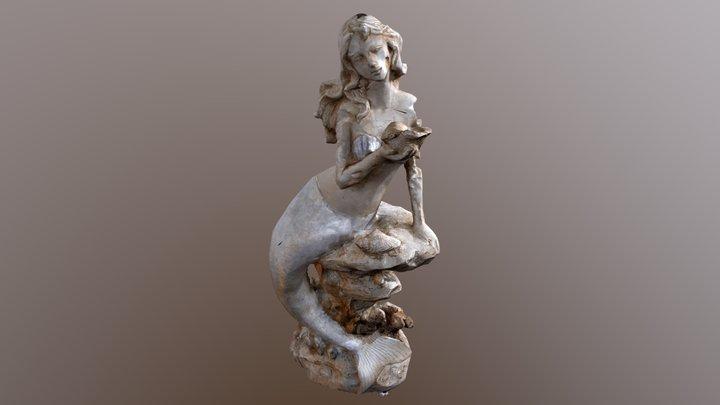 Mermaid 3DScan 3D Model