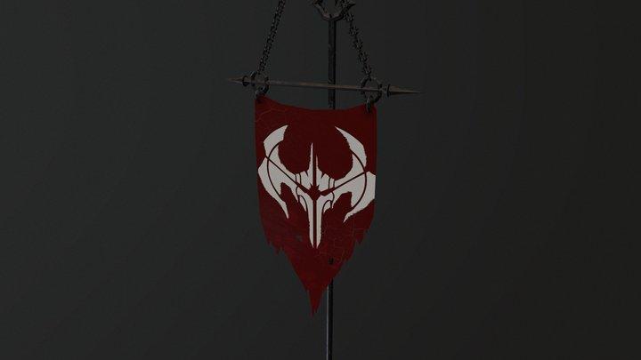NOXUS FLAG 3D Model