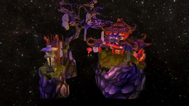 Forgotten Dragontemple 3D Model