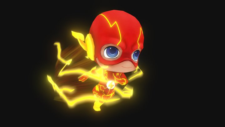 Run, Barry, Run 3D Model