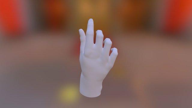Karim main droite 3D Model