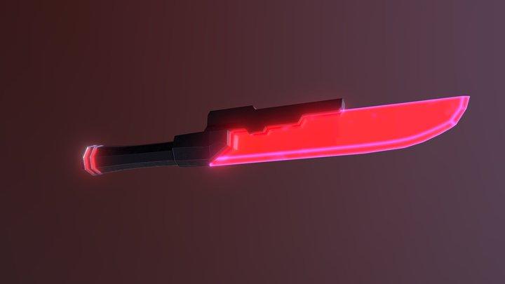Cyber Knife 3D Model