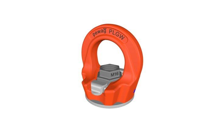 PLGW-SN pewag  winner profilift gamma eye nut 3D Model
