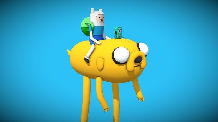 Adventure Time! 3D Model