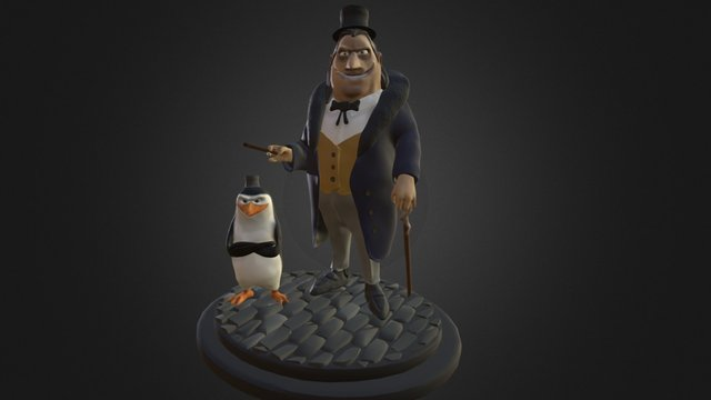 PINGUIN.BATMAN 3D Model
