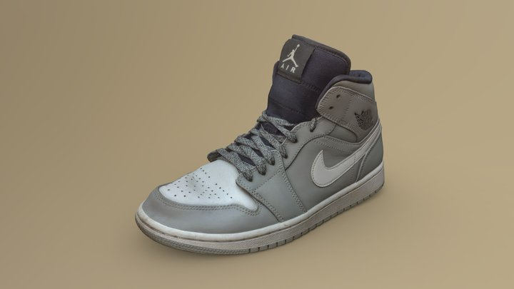 Nike Air Jordan I 3D Model