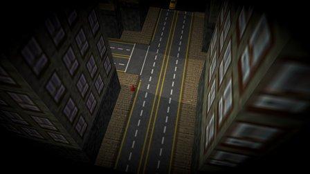 Retro Grand Theft Auto Animation 3D Model
