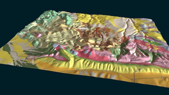 mapaStaCruz 3D Model