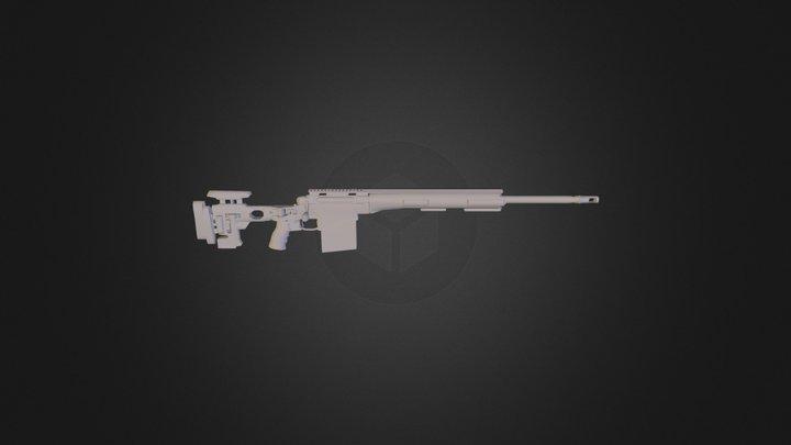 Remington700 3D Model