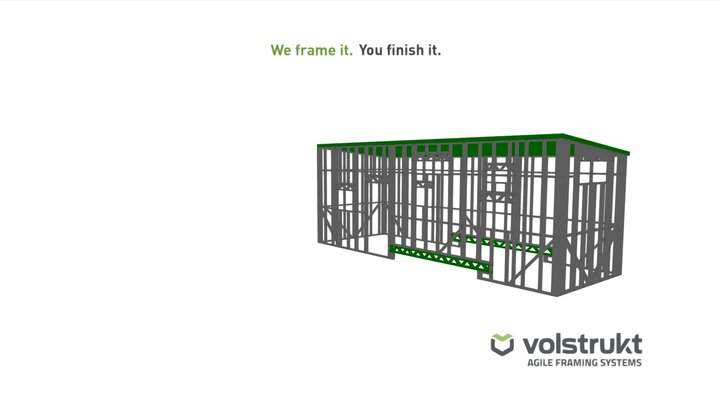 Mc Donnell 28' X 8' Frame 3D Model