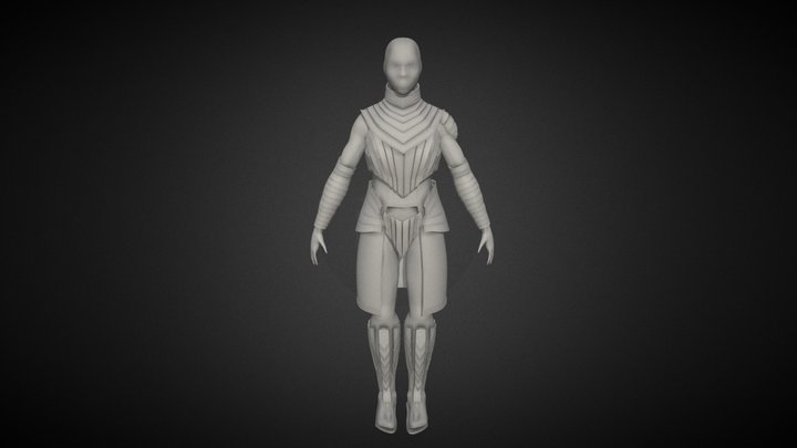 Study: Character Clothing 3D Model