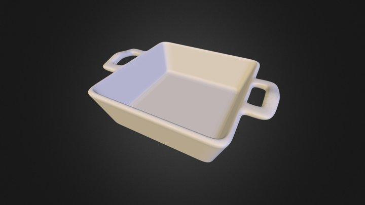 Porcelain tableware Zxp1180 3D Model