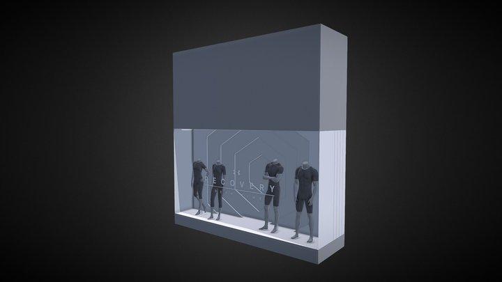 Rush Display Window 3D Model