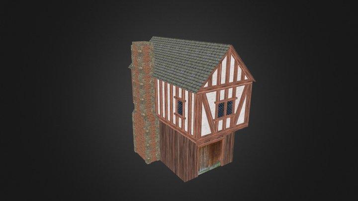 Medieval Building 01 3D Model