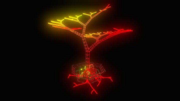 Tree Sculpture /// 3D Model