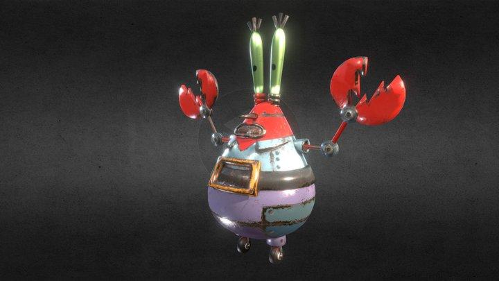 Mr Crab Ravioli 3D Model