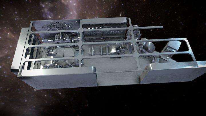 YOYODYNE ROBOTICS MINI BOT FACTORY & REPAIR BAY 3D Model