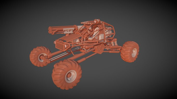 Offroad Buggy 3D Model