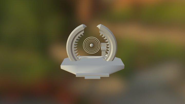 Ring Accelerator 3D Model