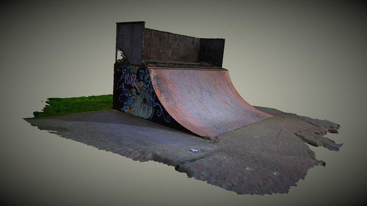 Quarterpipe: Brackla Skatepark 3D Model