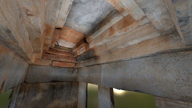 Stone chamber in China 3D Model