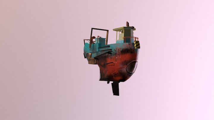 Barco 3D Model
