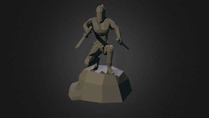 Assassin Statue 3D Model