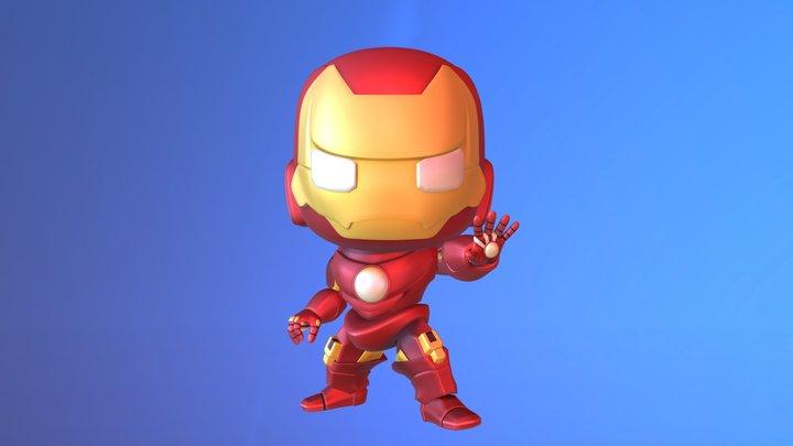 Chibi Ironman 3D Model